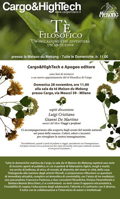 Agenda gianni de martino for Cargo via meucci